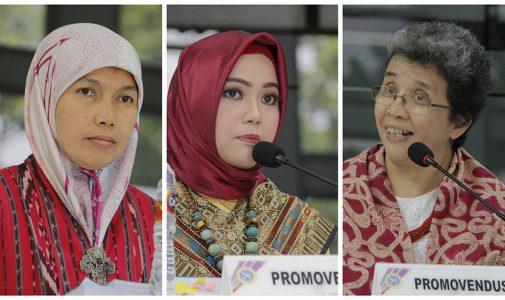 Tiga Doktor Baru Menutup Semester Gasal 2017-2018