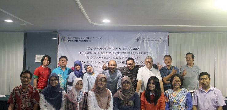 Camp Mahasiswa Angkatan 2017 dan Lokakarya Persiapan Program Doktor Berbasis Riset